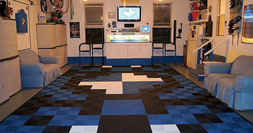 Turn your garage into an entertainment room!