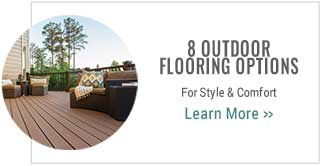 8 Outdoor Flooring Options for Style & Comfort