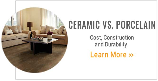 Ceramic Vs. Porcelain