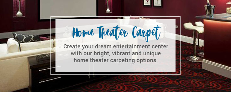 Home Theater Carpet Stain Resistant Sound Absorption