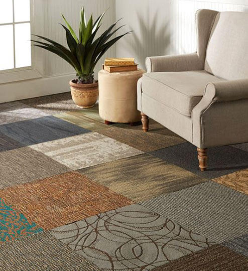 Engineered Hardwood. Carpet Tile Installation