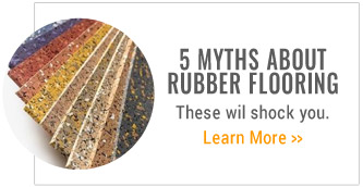 5 myths about rubber flooring