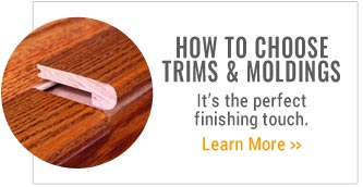 How to Choose Trims and Moldings