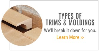 Types of Trims and Moldings