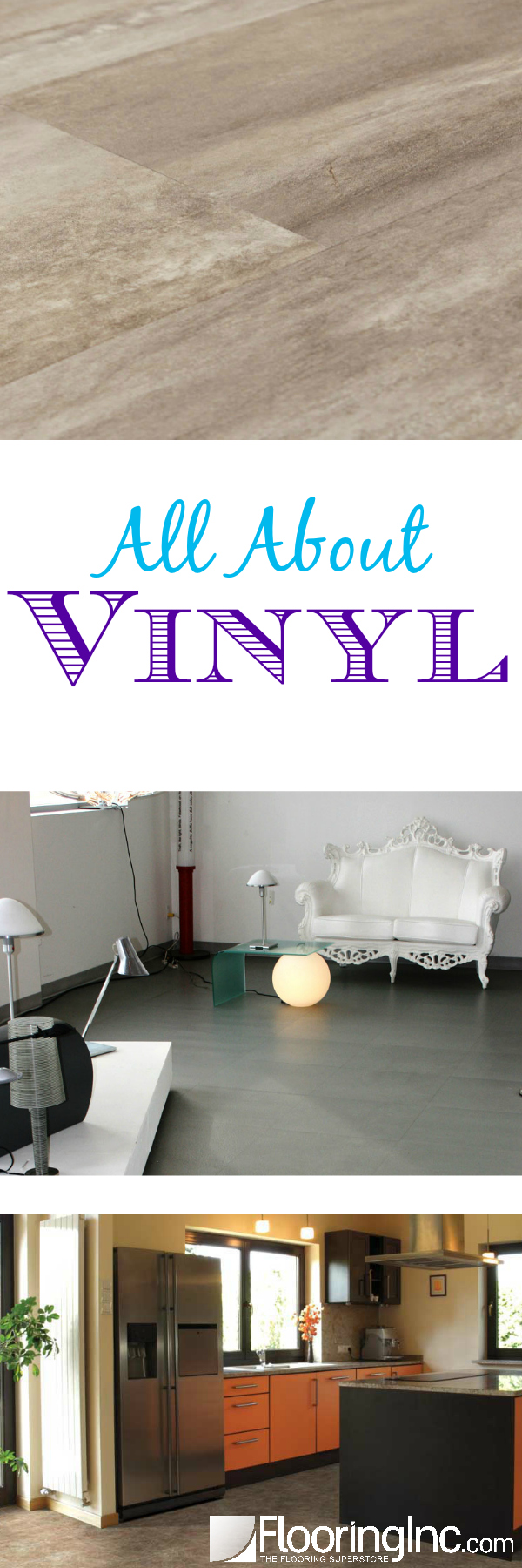 All About Vinyl: Everything you need to know about this cost-effective, easy to install flooring option!