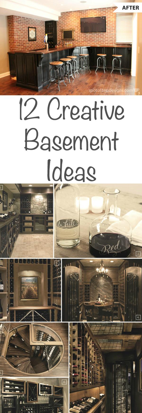 12 Creative Basement Ideas