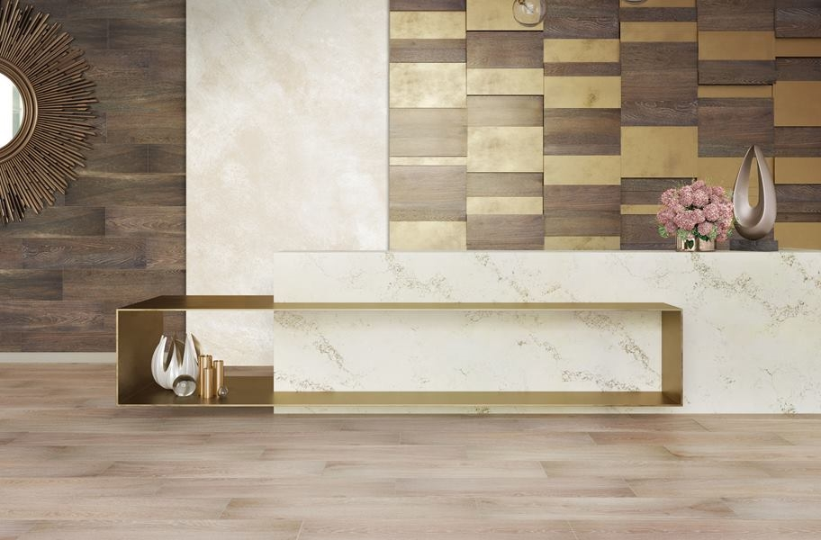 porcelain tile on floor and wall