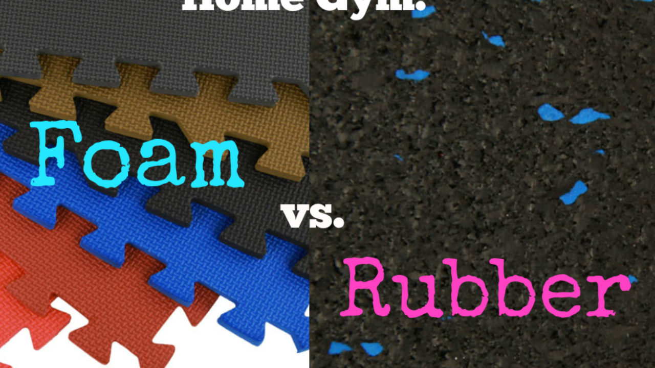 Home Gym: Foam vs Rubber - Flooring Inc