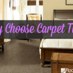 Carpet tiles are a new trend for you to consider--so easy and maintainable!