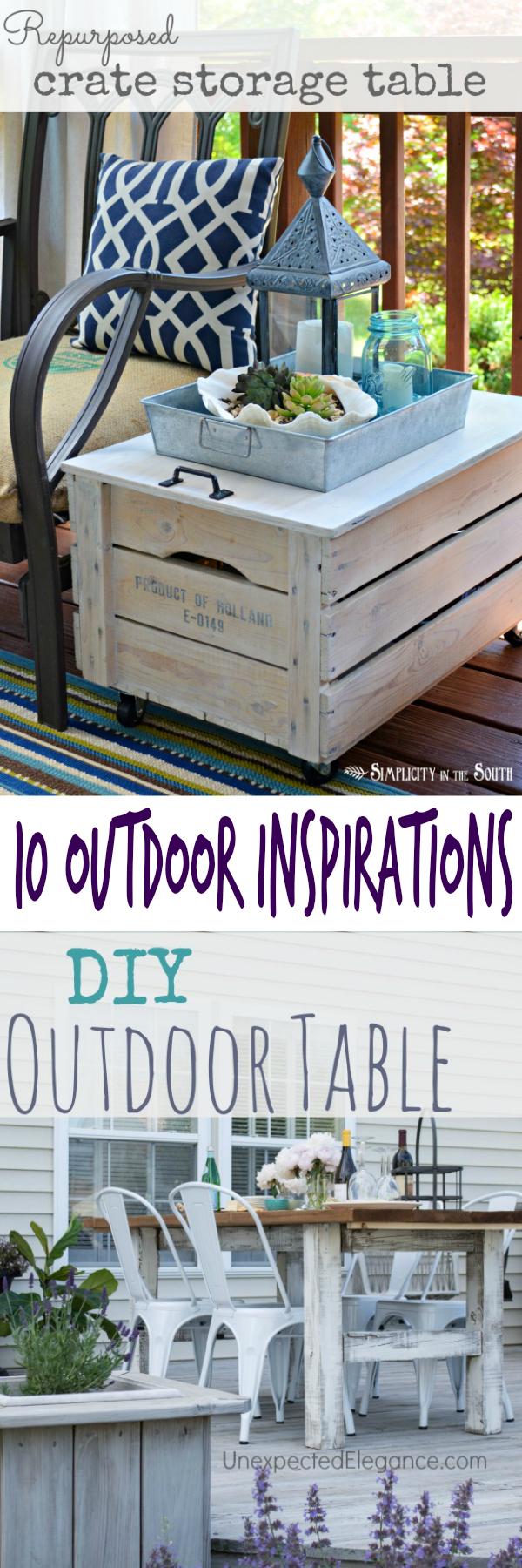 10 Outdoor Inspirations