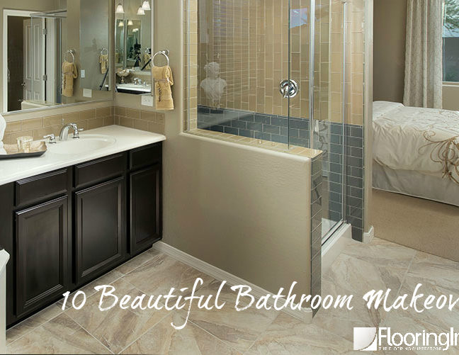 10 Beautiful Bathroom Makeovers: Something for every budget and aesthetic!