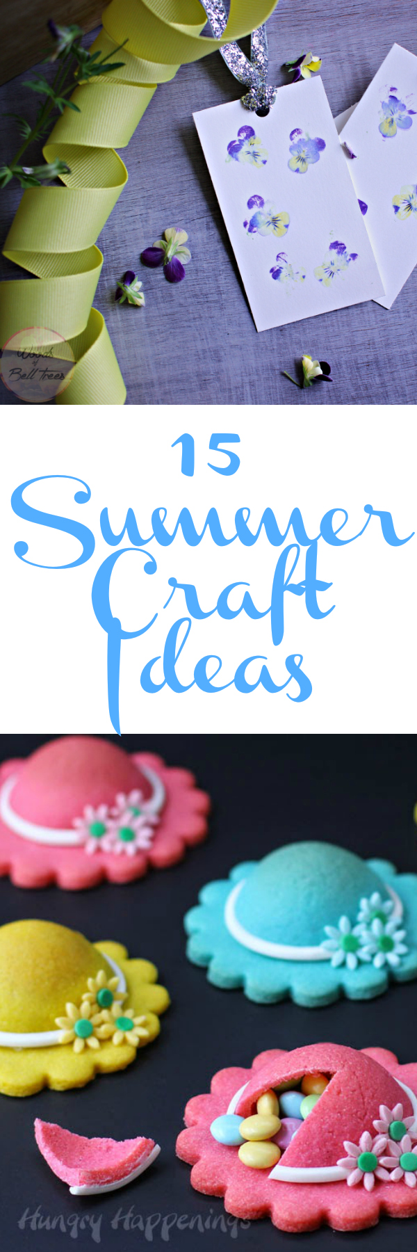 15 Summer Craft Ideas: The best, cutest and most creative summer crafts from around the web!