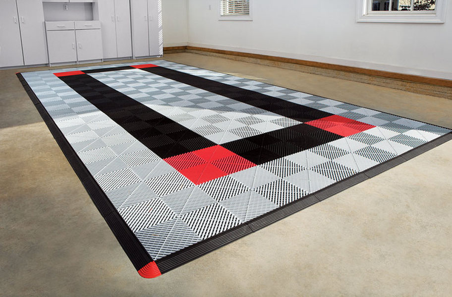 How to Install Grid-Loc Garage Tiles: Insanely easy with a step-by-step instructional video