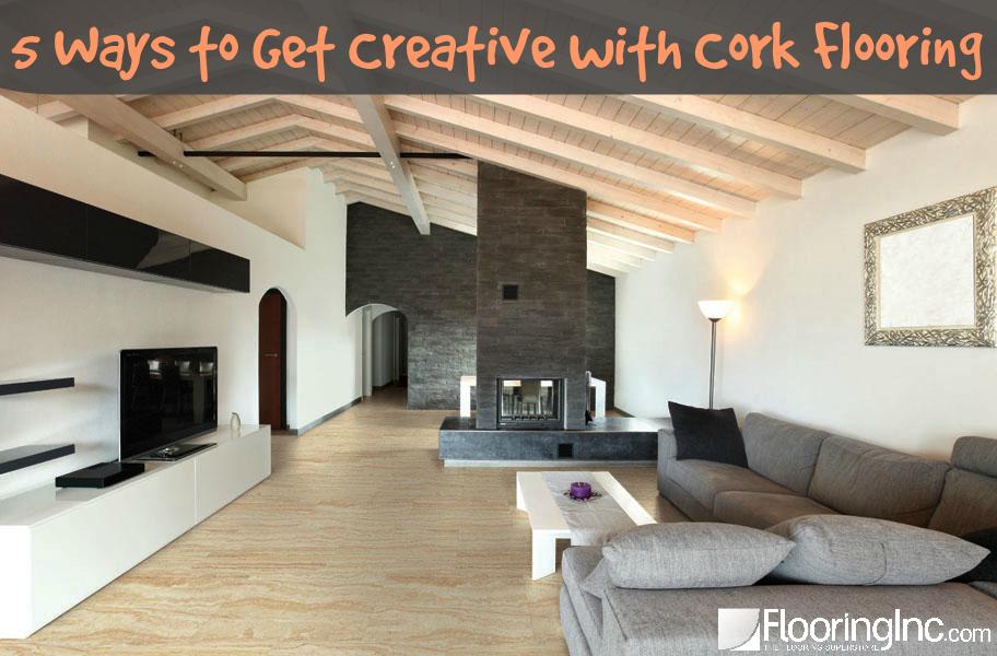 5 Ways to Get Creative with Cork Flooring