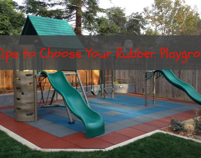 10 Tips to Choose Your Rubber Playground: Tiles or mulch? Find out which is the right choice for you.