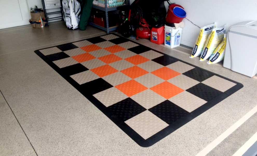Photo Friday 15 Diamond Grid Loc Tiles Flooring Inc
