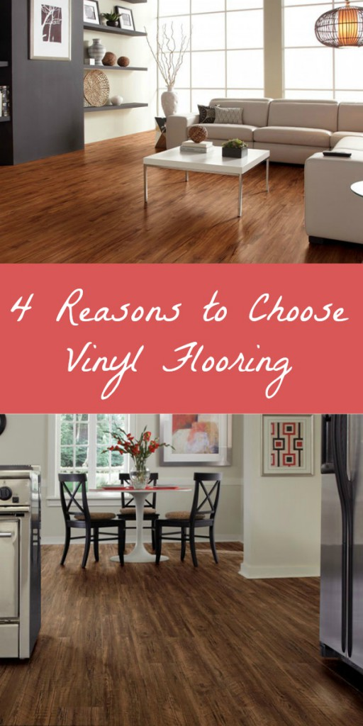 Why choose vinyl flooring? 4 reasons why vinyl is the hottest and fastest growing flooring option on the market!