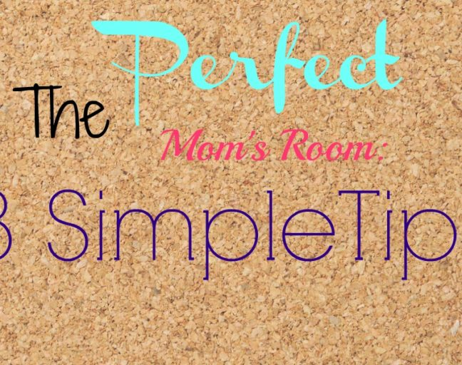 3 Tips to Create the Perfect Mom's Room: Make your space both kid and mom friendly with these just a few easy tricks!