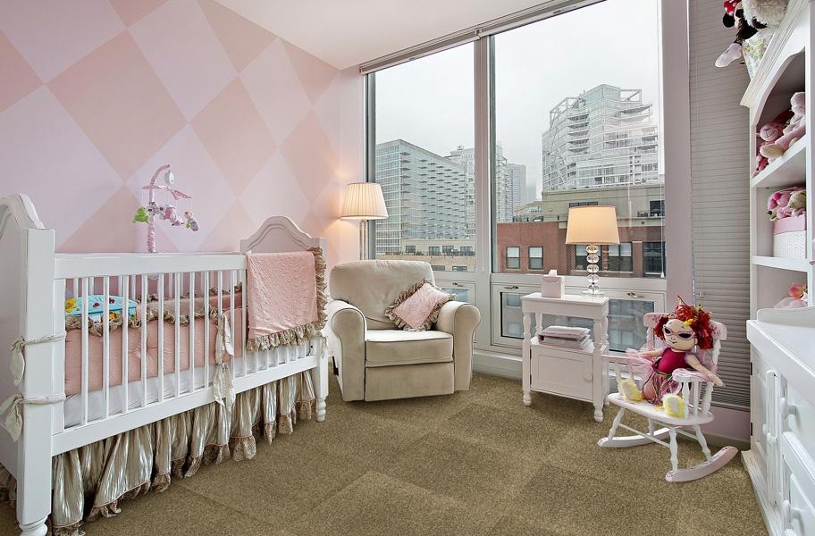 carpet tile in a nursery setting