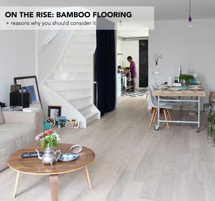 On The Rise Bamboo Flooring Flooringinc Blog