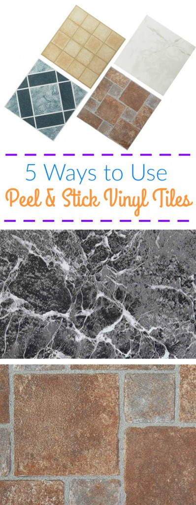 5 Ways To Use Peel And Stick Vinyl Tiles Flooringinc Blog