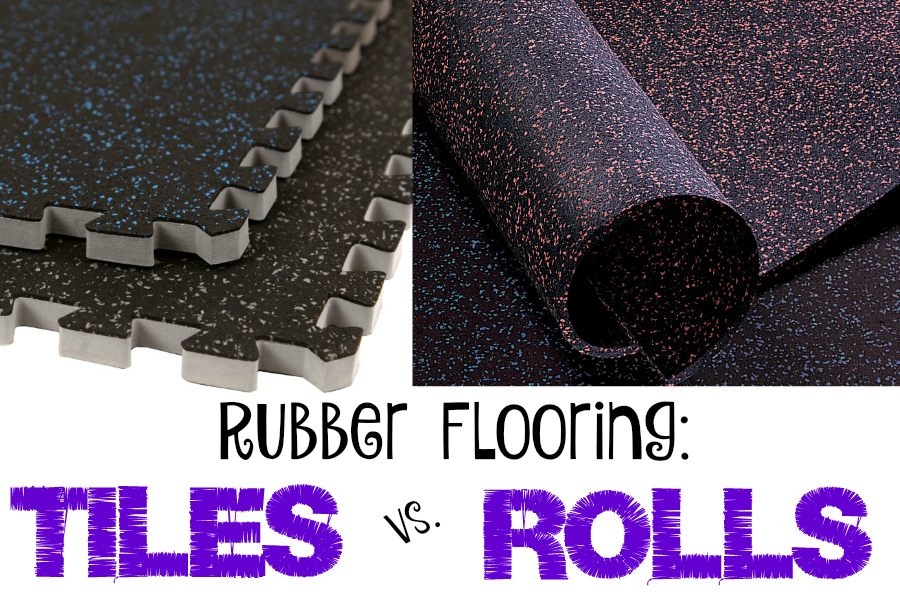 Rubber Flooring Tiles Vs Rolls Flooringinc Blog