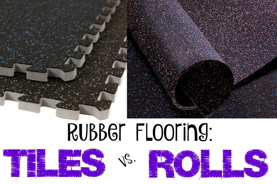 Flooring: Rubber Flooring Tiles