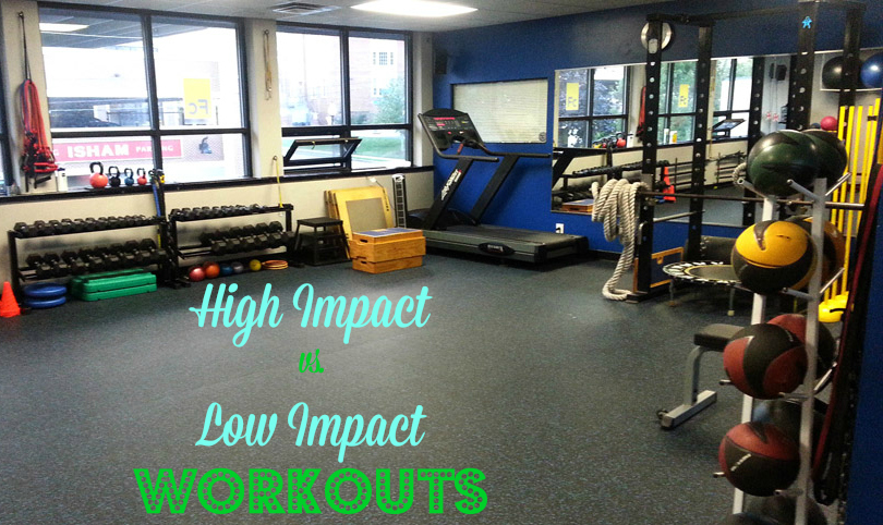 High Impact Workouts vs. Low Impact Workouts: Learn the difference, the options and figure out which workout and gear is best for your needs.