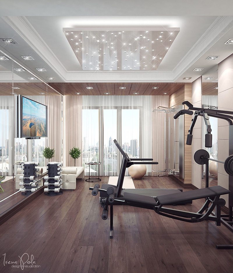 Home Gym Design Ideas: 15 Home Gyms Worth Sweating In