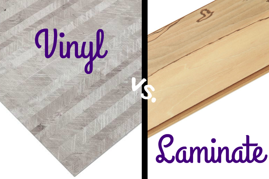 Laminate Flooring Vs Wood Flooring laminate vs vinyl flooring - flooringinc blog