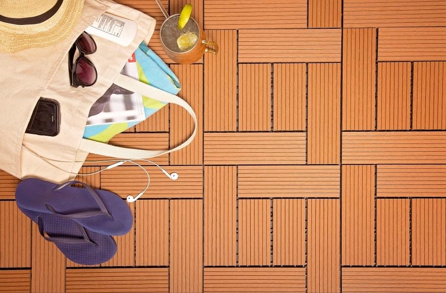 Eco-Friendly Flooring Guide: composite deck tile
