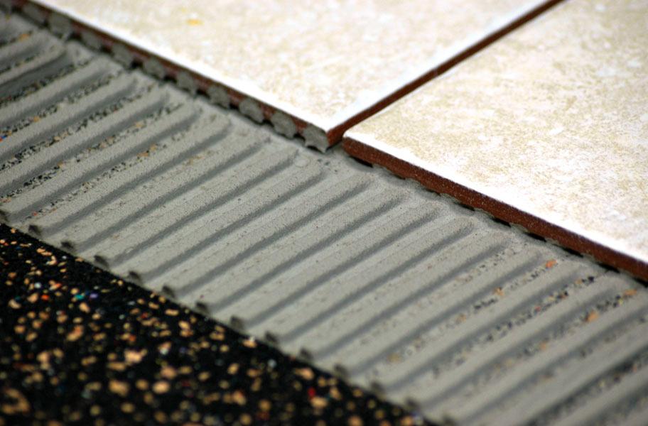 rubber tile underlayment