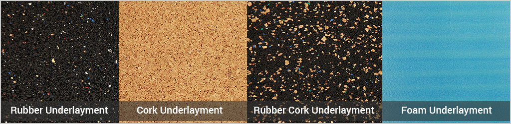 types of underlayment
