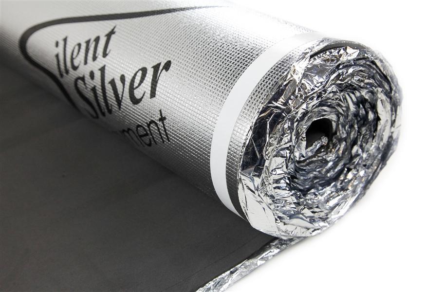 silver foam underlayment