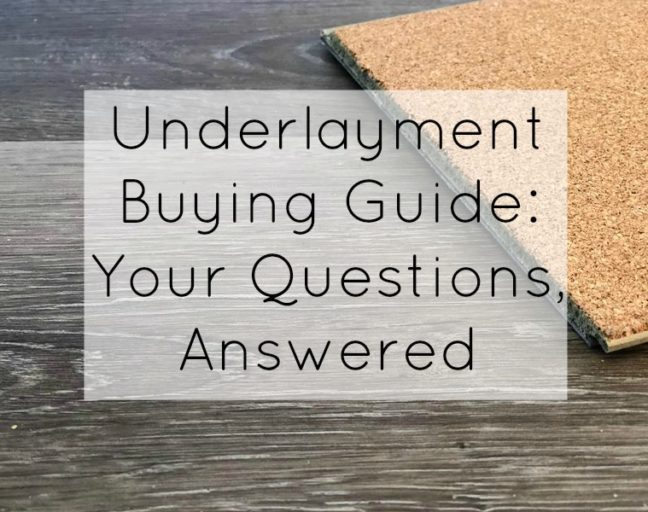 underlayment guide