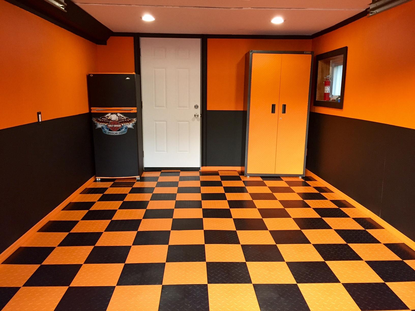 Photo Friday 29 A Harley Garage Haven Flooring Inc