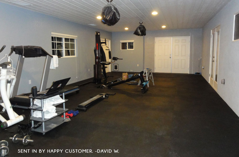 Home Gym Flooring For Your Budget Flooringinc Blog