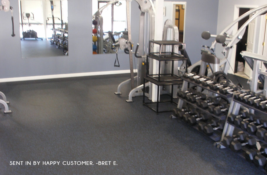 Home gym flooring for your budget flooringinc