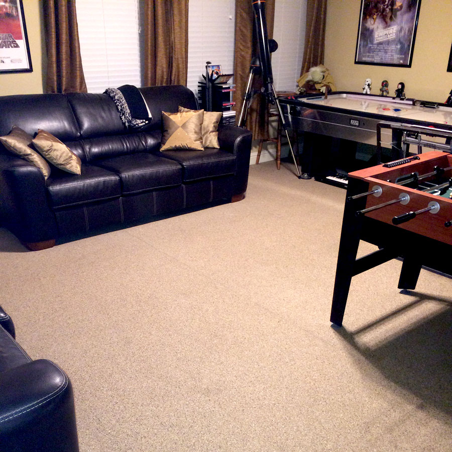 How To Carpet A Basement Floor: The Best Basement Flooring Options