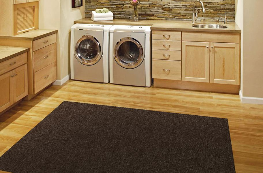 Waterproof carpet for basement flooring