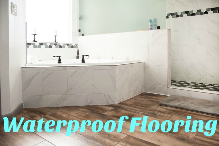 The Best Waterproof Flooring Options FlooringInc Blog - Best material for bathroom subfloor