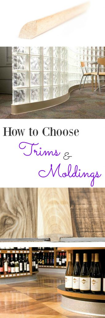 How to Choose Trims & Moldings: Don't leave your floor naked! Get the perfect finishing touch with this in depth guide on how to choose trim pieces.