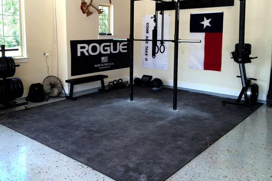 Garage gym flooring options gurus floor