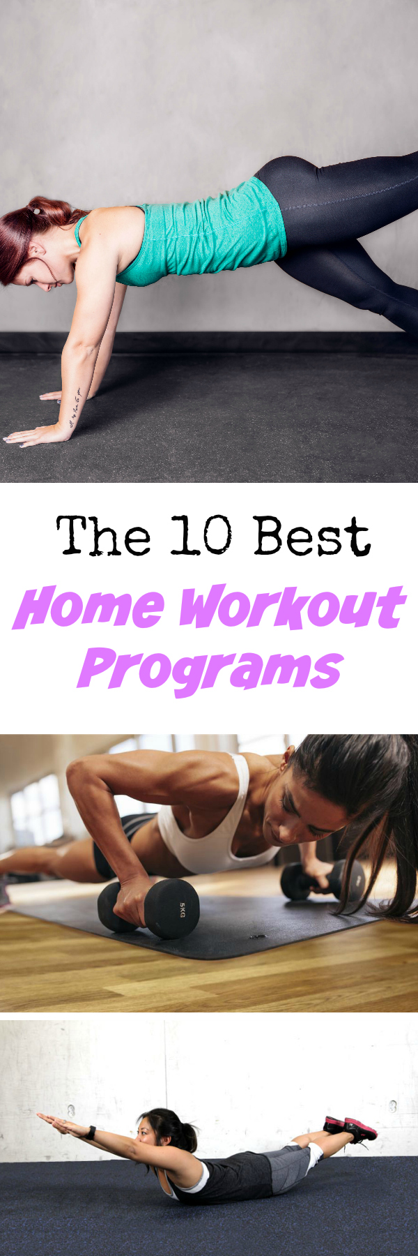 The 10 Best Home Workout Programs: 10 killer home workouts that will make you excited to get your sweat on at home!