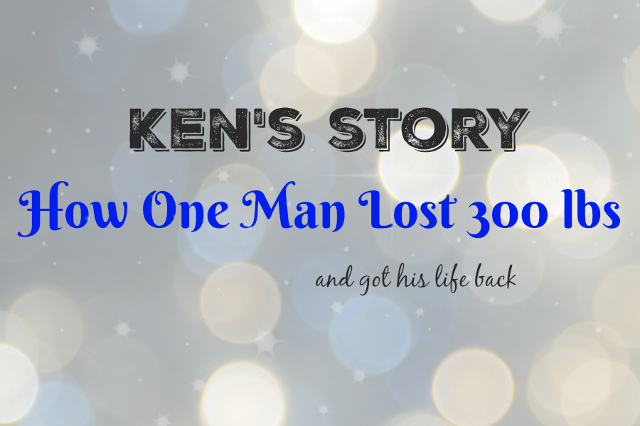 Ken's Story: How One Man Lost 300lbs and Got His Life Back. Get motivated with this inspiring weight loss story with video.