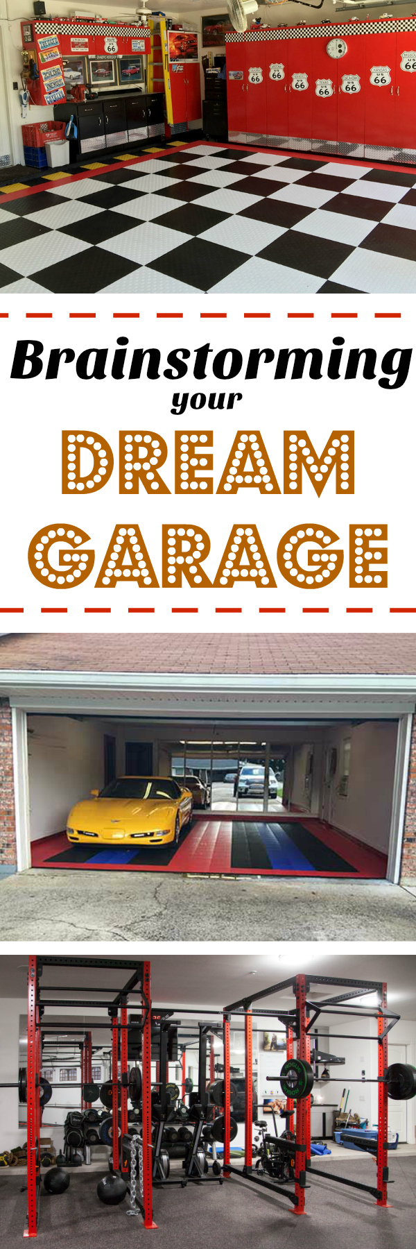 Brainstorming Your Dream Garage: How to take the first steps to building your dream garage - where to look and what to look for.