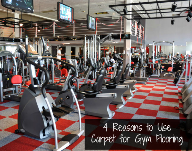 4 Reasons to Choose Carpet for Gym Flooring: Carpet tiles are an approachable, durable option for gym flooring. Discover if they could be the right choice for you.