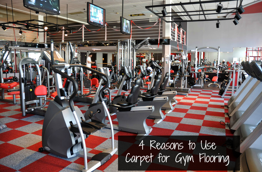 4 Reasons To Choose Carpet For Gym Flooring Tiles Are An Approachable Durable