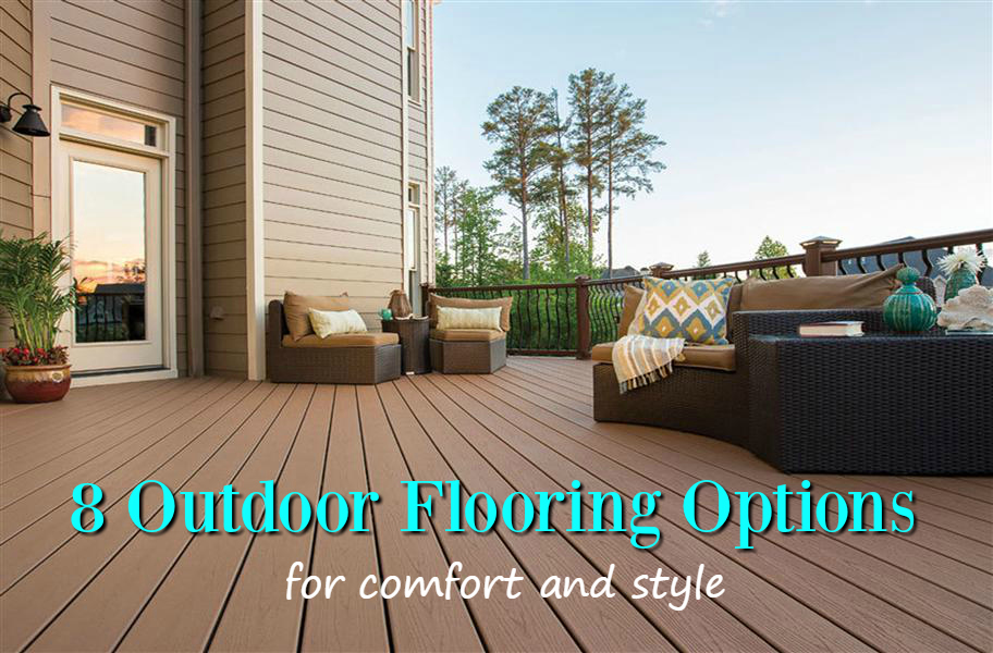 8 Outdoor Flooring Options for Style & Comfort - FlooringInc Blog on economical backyard ideas, simple backyard ideas, eco friendly backyard ideas, easy low maintenance landscaping ideas, safe backyard ideas, affordable backyard ideas, no mow backyard design, low maintenance front yard landscaping ideas, dog-friendly backyard landscaping ideas,