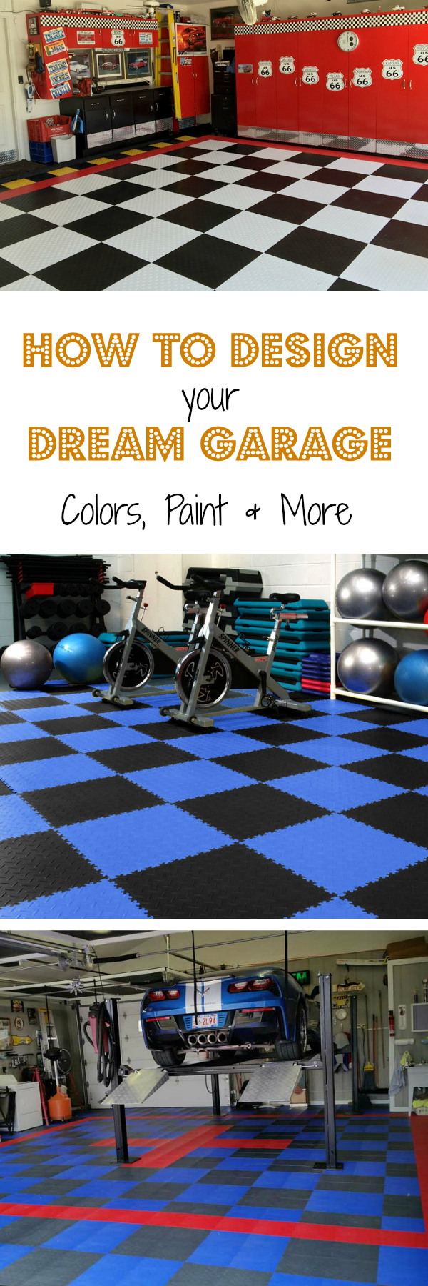 How to Design Your Dream Garage: Colors, Paint and More. See your vision become a reality when you choose the perfect color scheme for your man cave.